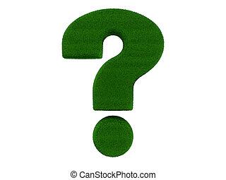 Grass Question Mark