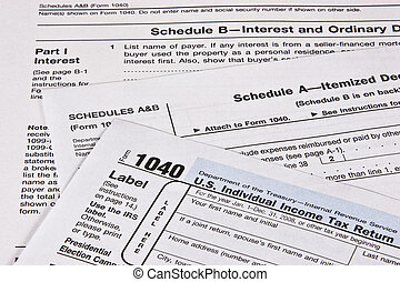 Income Tax Return - US Income Tax return with schedules A...