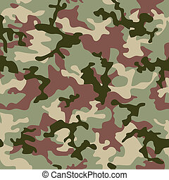 camouflage jungle - illustrated Green camouflage seamless...
