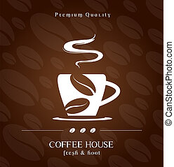 Coffee House cover background