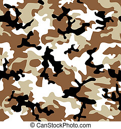 camouflage desert - Desert camouflage abstract seamless...