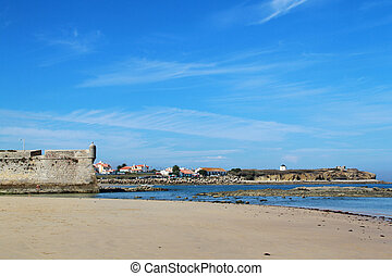 fortress in Peniche in Portugal