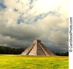 pirámide,  México