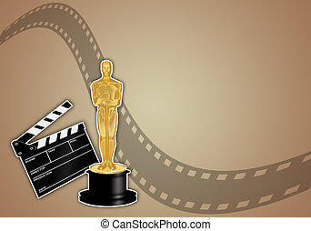 Oscars award - illustration of Oscars award
