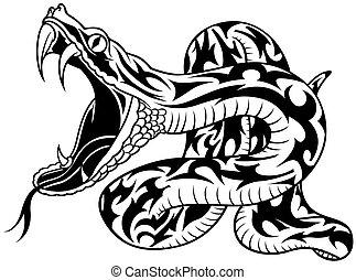 serpente, tatuaggio