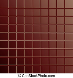 Chocolate tiled abstract backgroud - chocolate tiled...
