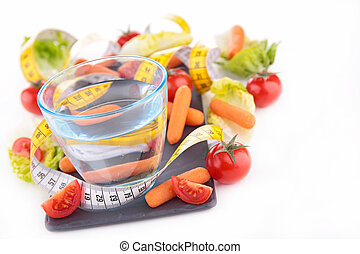 healthy food and drink