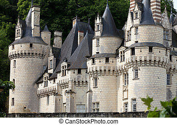 Castel of Rigny-Usse Known as the Sleeping Beauty Castle and...