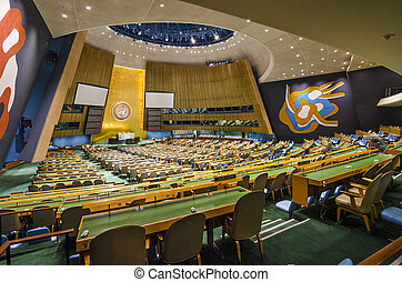United Nations - NEW YORK CITY, USA - MAY 21, 2012: The...