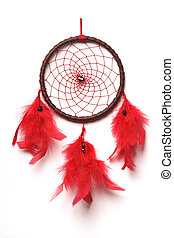 Dreamcatcher - Traditional north indian dreamcatcher with...