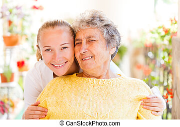 Elderly home care - Find the right home caregiver for your...