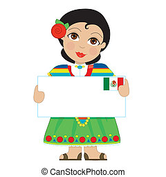 Mexican Girl Sign