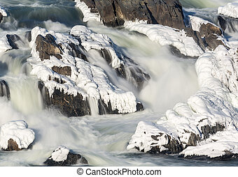 Great Falls on Potomac outside Washington DC - Great Falls...