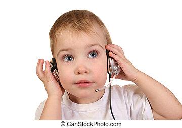 baby, hörlurar,  4