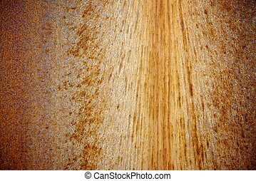 Oxide - rusty metallic surface background in high resolution