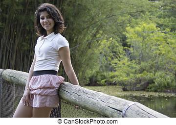 Beautiful Teenager Brazilian Girl