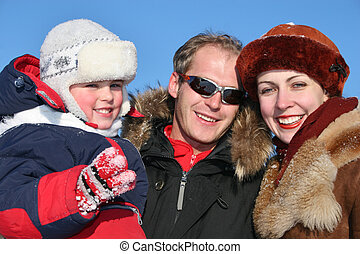 winter family faces 2