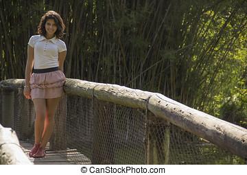 Beautiful Brazilian Girl - Beautiful Teenager Brazilian Girl