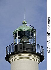 Point Loma Lighthouse Light - Point Loma Lighthouse in...