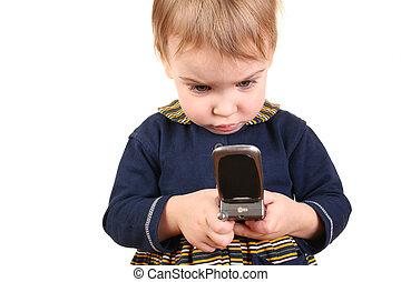 baby push phone