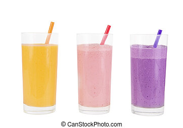 Fruit smoothies
