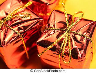 Gift Box - Close up shot of a Gift Box