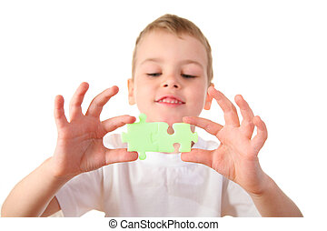 child with puzzle 2