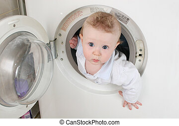 pure baby from washer