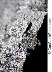 Titanium Texture - Up close detail of raw titanium.