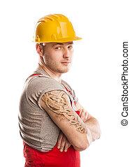 construção, trabalhador