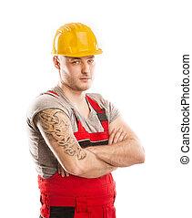 建設, 工人
