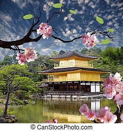 dourado, Pavilhão, Templo