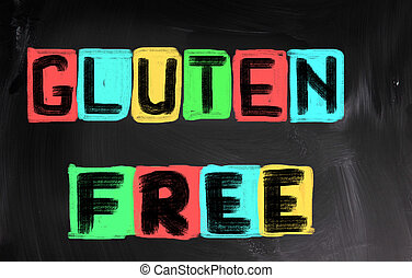 conceito,  gluten, livre