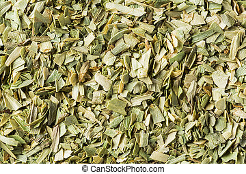 Dried tarragon leaf - Close up dried chopped tarragon leaf...