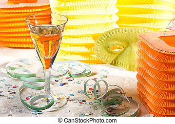 Carnival Decoration - still life with carnival decoration...