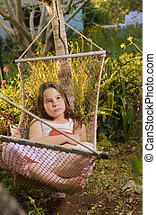 girl in hammock dream