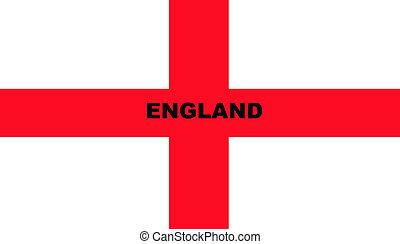 Flag of Saint George - Illustration of Saint George\'s cross...