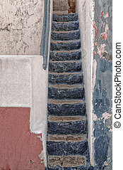 Portugese Steps - Steps up to a home in a small village in...