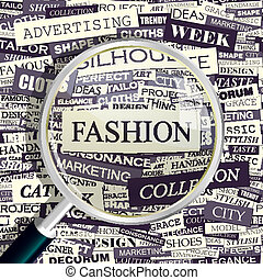 FASHION Concept related words in tag cloud Conceptual...