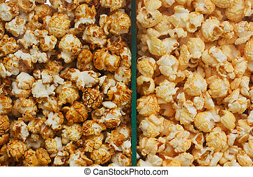 Two sorts of Popcorn