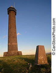 The Waterloo Monument in the Scottish Borders - The Waterloo...