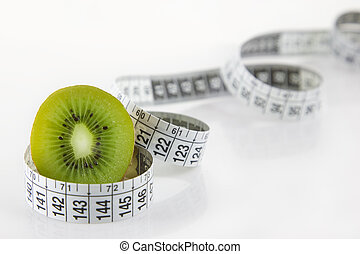 Diet and health kiwi fruit - Diet and health - A kiwi fruit,...