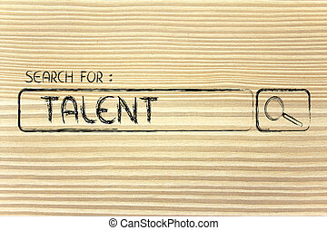 search engine bar, search for talent - search for talent,...