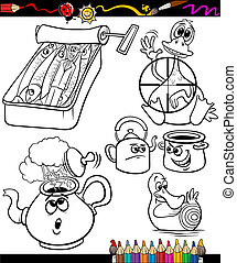 sayings set for coloring book