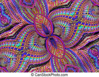 Fantasy Multicolored Ornament