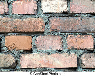 Detailed brick wall background - texture set 8