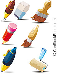 Stationery set - Big set of stationery for writing, drawing...