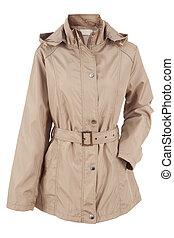 jacket  - Woman jacket isolated on a white background