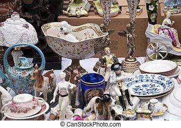 Jumble Sale - Scene on a Jumble Sale