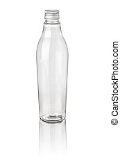 isolated plastic bottle